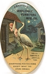 Bradford Furniture Co. Stork Mirror