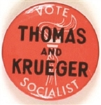 Thomas and Krueger, Socialist Party
