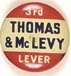 Thomas and McLevy Connecticut Socialist Party