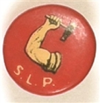 Socialist Labor Party Arm and Hammer Stud