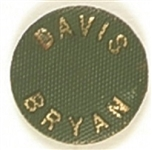 Davis. Bryan Embossed Green Pin