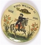King William III Celluloid