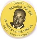 Dr. King NAACP Youth Council National Holiday