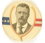 Theodore Roosevelt Large Lucky Wishbone Celluloid