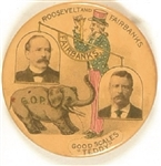 Theodore Roosevelt, Parker Teddy Scales Pin