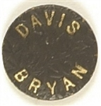 Davis, Bryan Embossed Black Pin