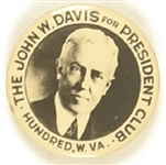 John W. Davis Hundred, W. Va. Club