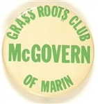 McGovern Marin County Grass Roots Club