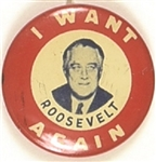 I Want Franklin Roosevelt Again