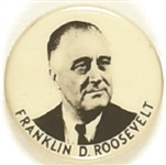 Franklin Roosevelt 1 Inch Celluloid, Different Photo