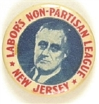 Franklin Roosevelt New Jersey Labors Non Partisan League