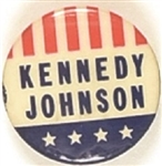 "Kennedy, Johnson ""Upside Down"" Stars and Stripes"