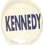 John F. Kennedy Blue, White Litho