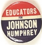 Educators for Johnson, Humphrey