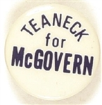 Teaneck for McGovern
