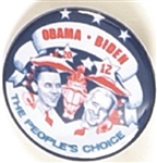 Obama, Biden the Peoples Choice