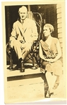 Calvin and Grace Coolidge Postcard