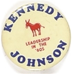 Kennedy, Johnson Leadership for the 60s