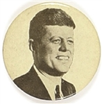 John F. Kennedy Black, White Picture Pin