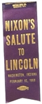 Nixons Salute to Lincoln Ribbon