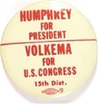 Humphrey, Volkema Ohio Coattail