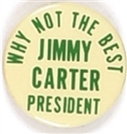 Carter Why Not the Best