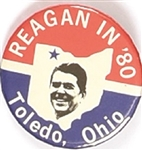 Reagan in 80 Toledo, Ohio