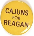 Cajuns for Reagan Yellow Version