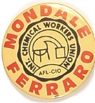 Mondale, Ferraro Chemical Workers Union