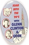 Clinton, Gore, Glenn Soar to New Heights