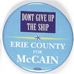 McCain Erie County Dont Give Up the Ship
