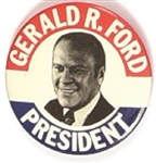 Gerald Ford 3 Inch Celluloid