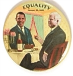 Obama, Ted Kennedy Equality 3 Inch Version