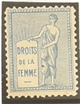 Votes for Women French Stamp