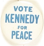 Vote Kennedy for Peace