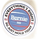 Sanders 2020 Hold Tight