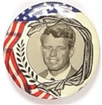 Robert Kennedy Flag and Laurel