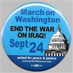 March on Washington End the War in Iraq