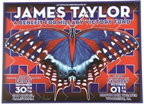 James Taylor Hillary Clinton Victory Fund Concert