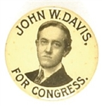 John W. Davis for Congress