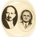 Rare Truman and Weizmann Recognition of Israel Pin