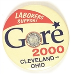 Laborers Support Gore Cleveland, Ohio