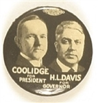 Coolidge, Davis Ohio Coattail