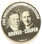 Hoover, Cooper Ohio Coattail