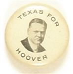Texas for Hoover Celluloid