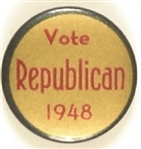 Dewey Vote Republican 1948