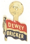 Dewey, Bricker Litho Tab