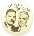 Dewey, Bricker Celluloid Jugate