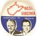 Humphrey, Muskie State Set West Virginia