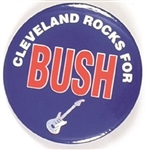 Cleveland Rocks for George W. Bush